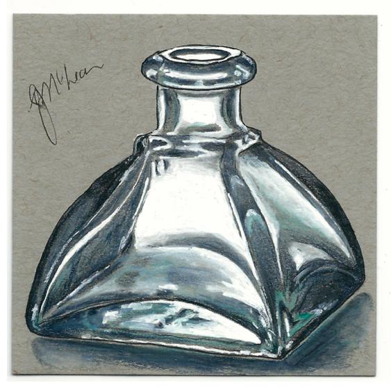 Empty Ink Bottle