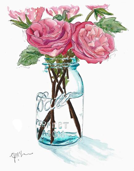 Roses-Ball-Jar