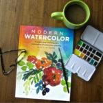 """Book Review: """"Modern Watercolor"""" by Kristin Van Leuven"""
