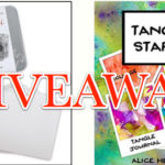 """Tangle Starts"" Book & Hahnemühle You Tangle Tiles Giveaway!"