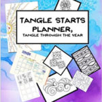 """Tangle Starts Planner"" by Alice Hendon + Giveaway!"